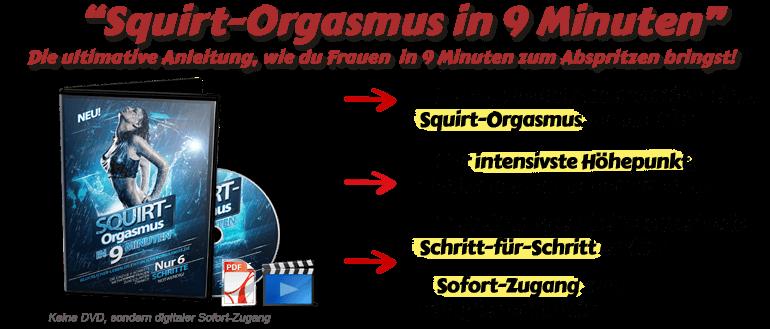 Squirt-Orgasmus in 9 Minuten